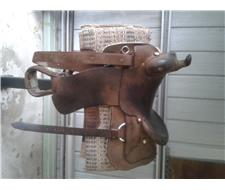 16 Dan Miller Western Saddle