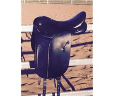 Barnsby turnout saddle - Black 15