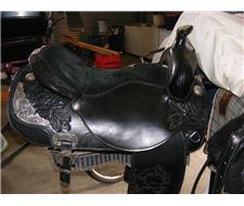Western Pleasure Show Saddle