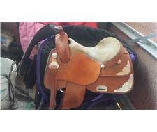 Oz West Show Saddle