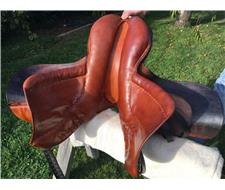 Stubben Siegfried 18 jumping saddle