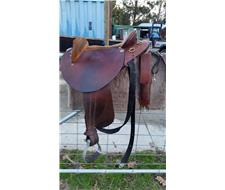Halfbreed Saddle - John O'Leary