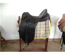 Ted May Flinders Poley Stock Saddle