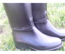 Aigle Rubber Tall riding boots