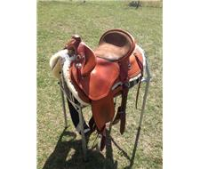 Bill Mannings Custom Western Saddle