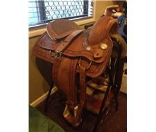 Fort Worth Western Saddle For Sale