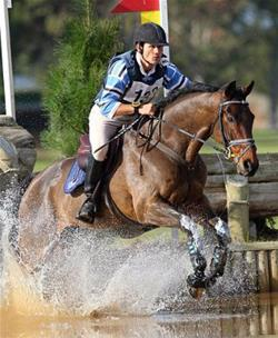 Shane Rose is a strong contender for the eventing team.