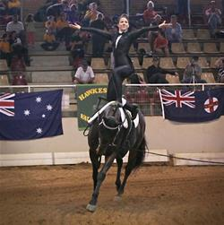 Ea Announces First National Vaulting Squad News Top Horse