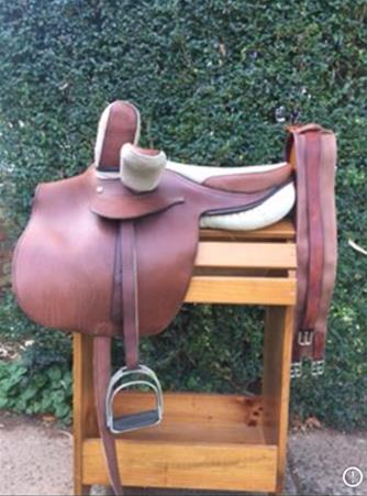 Horse Riding Side Saddle