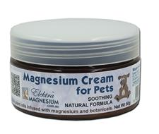 Magnesium Pet Cream 50g Jar