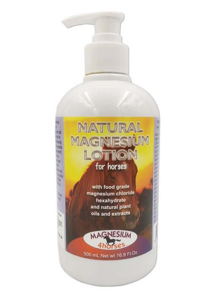 Magnesium Lotion for Horses 500mL