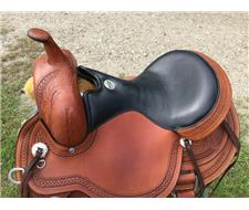 Julie Goodnight circle Y Teton saddle