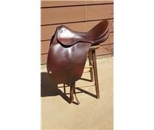 John Davis Show Saddle 15 Mounted