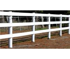 60*20 Metre Arena Fence Pack White Inc Posts