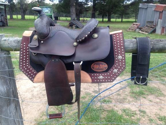 Billy Cook Western Pleasure Saddle