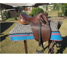 CHILDS STOCK SADDLE