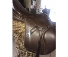 Bates Elevation Pony Jumping Saddle