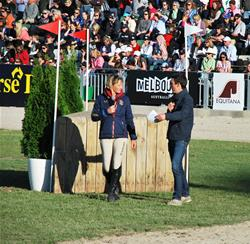 2012 Equitana guest, Mary King comments on the Eventing Grand Final course.